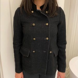 Marc by Marc Jacobs reversible military coat